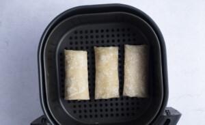 Frozen burritos in the air fryer